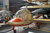 Helicopter-DataBase Photo ID:11038 HC-2 Heli Baby Aviation Museum Praha-Kbely OK-09