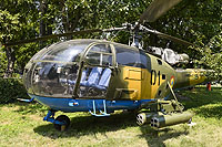 Helicopter-DataBase Photo ID:1295 IAR-316B Alouette III National Museum of Romanian Aviation 01