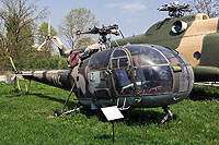 Helicopter-DataBase Photo ID:958 IAR-316B Alouette III National Museum of Romanian Aviation 114 cn:114