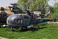 Helicopter-DataBase Photo ID:854 IAR-316B Alouette III National Museum of Romanian Aviation 45 cn:162