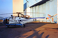 Helicopter-DataBase Photo ID:18056 IAR-316B Alouette III POLITIA 49 cn:98