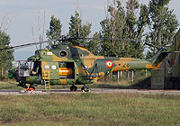 Helicopter-DataBase Photo ID:4924 IAR-330 Puma SOCAT Romanian Air Force 28 cn:40