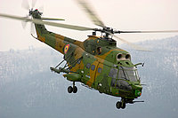 Helicopter-DataBase Photo ID:4319 IAR-330 Puma SOCAT Romanian Air Force 61 cn:111