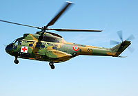 Helicopter-DataBase Photo ID:896 IAR-330L Puma MEDEVAC Romanian Air Force 85