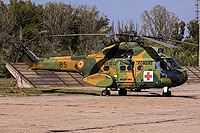 Helicopter-DataBase Photo ID:14106 IAR-330L Puma MEDEVAC Romanian Air Force 85
