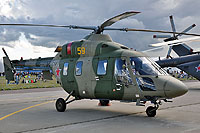 Helicopter-DataBase Photo ID:11741 ANSAT-U Russian Air Force 59 yellow cn:33059