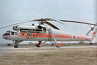 Helicopter-DataBase Photo ID:15175 Mi-10R MAP MVZ 81 red