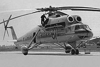 Helicopter-DataBase Photo ID:15176 Mi-10R MAP MVZ 81 red