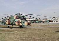 Helicopter-DataBase Photo ID:3965 Mi-8MTV Georgian Air Force 06 blue
