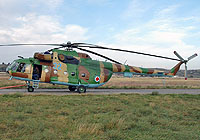 Helicopter-DataBase Photo ID:3966 Mi-8MT Georgian Air Force 32 blue