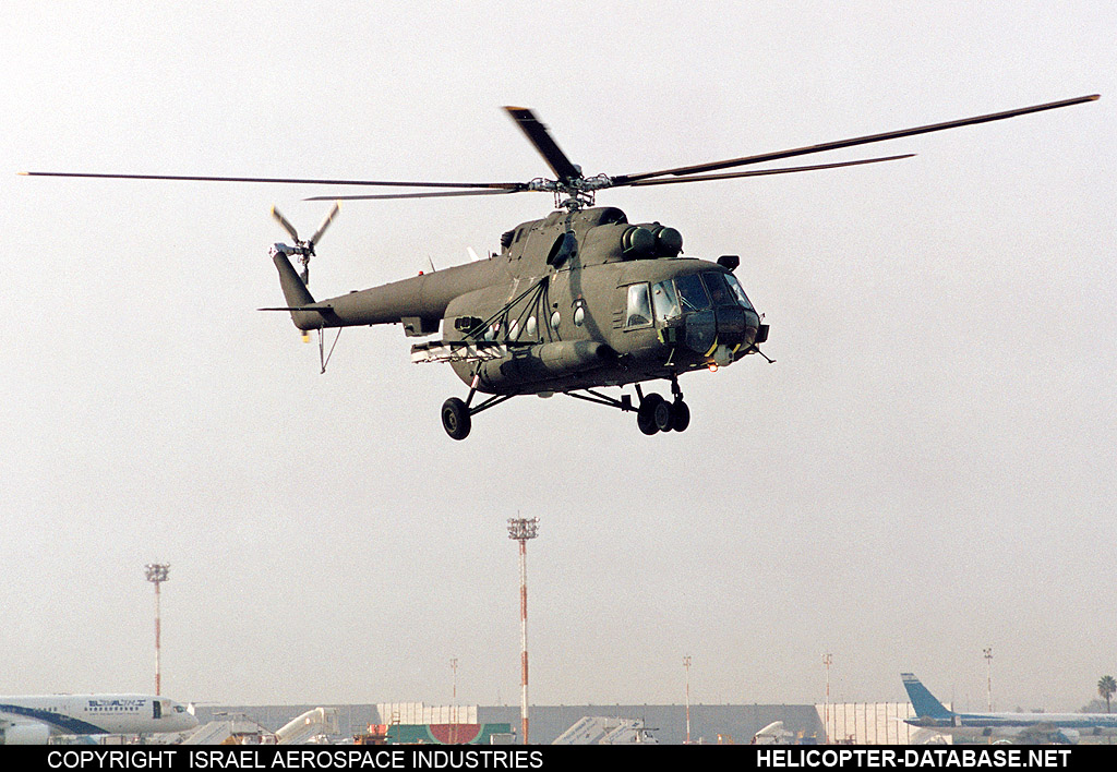 "Mi-17 ""PEAK17"" (upgrade by IAI)   IAI817"