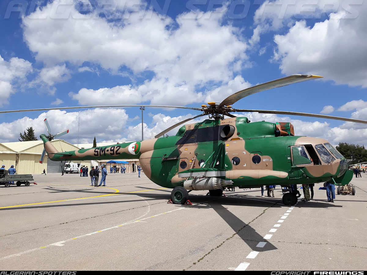 Mi-171Sh (upgrade by Algeria)   SM-92