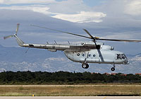 Helicopter-DataBase Photo ID:8641 Mi-17-1VA Evacuation Sanitaire Croatian Air Force and Air Defence H-215
