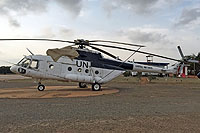Helicopter-DataBase Photo ID:14401 Mi-17-V5 United Nations G692 cn:288M03