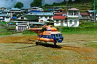 Helicopter-DataBase Photo ID:1294 Mi-8MTV-1 NEPAL AIRWAYS HELICOPTER SERVICES 9N-ADO cn:95724
