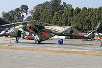 Helicopter-DataBase Photo ID:15463 Mi-17-V5 Royal Nepalese Army Air Service NA-057 cn:524M09