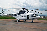 Helicopter-DataBase Photo ID:8833 Mi-17-1V (upgrade by ASU Baltija 2) Rwandan Air Force  cn:646M09