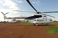 Helicopter-DataBase Photo ID:13475 Mi-17-V5 United Nations RAF-2205 cn:646M..