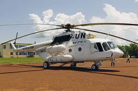 Helicopter-DataBase Photo ID:13474 Mi-17-V5 United Nations RAF-2712 cn:646M16