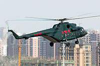 Helicopter-DataBase Photo ID:17561 Mi-171E People's Airborne Police WJ51701