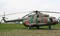 Helicopter-DataBase Photo ID:533 Mi-8MT Russian Air Force 01 blue cn:94405