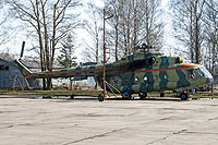 Helicopter-DataBase Photo ID:7895 Mi-8MT Russian Air Force 01 blue cn:94369
