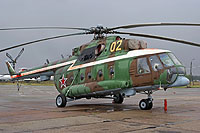 Helicopter-DataBase Photo ID:9906 Mi-8MT Russian Air Force 02 yellow cn:94651