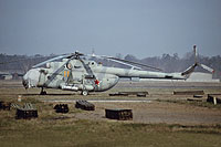 Helicopter-DataBase Photo ID:12316 Mi-8MT 485th Independent Combat Helicopter Regiment 11 orange cn:95052