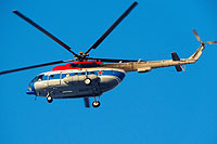 Helicopter-DataBase Photo ID:9718 Mi-8MTV-2 Russian Air Force 18 blue cn:97004