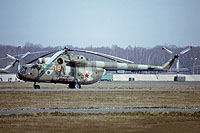 Helicopter-DataBase Photo ID:12318 Mi-8MT 485th Independent Combat Helicopter Regiment 18 orange cn:95059