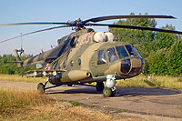 Helicopter-DataBase Photo ID:6582 Mi-8MTKO Russian Air Force 201 red