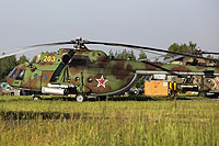 Helicopter-DataBase Photo ID:6831 Mi-8MTKO Russian Air Force 203 yellow cn:94889