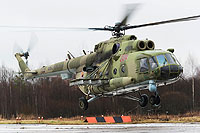 Helicopter-DataBase Photo ID:9649 Mi-8MTKO Russian Air Force 204 red cn:94687
