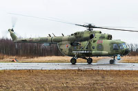 Helicopter-DataBase Photo ID:9733 Mi-8MTKO Russian Air Force 204 red cn:94687