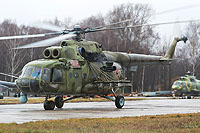 Helicopter-DataBase Photo ID:9886 Mi-8MTKO Russian Air Force 204 red cn:94687