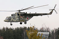 Helicopter-DataBase Photo ID:7210 Mi-8MTV-5 Russian Air Force 20 red cn:96650