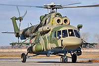 Helicopter-DataBase Photo ID:11055 Mi-8AMTSh-V Russian Air Force 243 yellow cn:8AMTS00643137406U