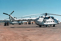 Helicopter-DataBase Photo ID:6188 Mi-8MTV-3 United Nations 33 black cn:96233