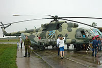 Helicopter-DataBase Photo ID:8198 Mi-8MT Russian Air Force 33 blue cn:94755
