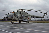 Helicopter-DataBase Photo ID:16841 Mi-8MT 487th Independent Combat Helicopter Regiment 36 blue cn:94633