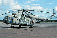 Helicopter-DataBase Photo ID:11436 Mi-8MT 487th Independent Combat Helicopter Regiment 38 blue cn:94646