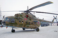 Helicopter-DataBase Photo ID:6577 Mi-8MT Russian Air Force 44 red cn:94476