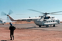 Helicopter-DataBase Photo ID:6189 Mi-8MTV-2 United Nations 47 black cn:96047