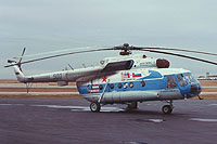 Helicopter-DataBase Photo ID:18086 Mi-8MT MAP MVZ 500 blue