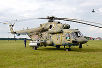 Helicopter-DataBase Photo ID:10533 Mi-8AMTSh Russian Air Force 50 red cn:8AMTS00643137330U