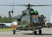 Helicopter-DataBase Photo ID:1688 Mi-8MTV-1 Russian Air Force 58 blue cn:95771