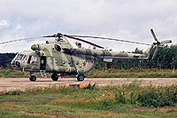 Helicopter-DataBase Photo ID:8413 Mi-8MTV Russian Air Force 72 yellow cn:95194
