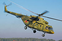 Helicopter-DataBase Photo ID:8600 Mi-8MTV-5 Russian Air Force 73 yellow cn:95448