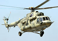 Helicopter-DataBase Photo ID:5400 Mi-17-V5 Mil Moscow Helicopter Plant 742 black cn:96742
