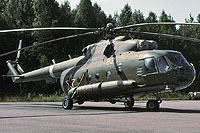 Helicopter-DataBase Photo ID:7501 Mi-8MTV-2 Soviet Ministry of the Interoir 82 yellow cn:95370